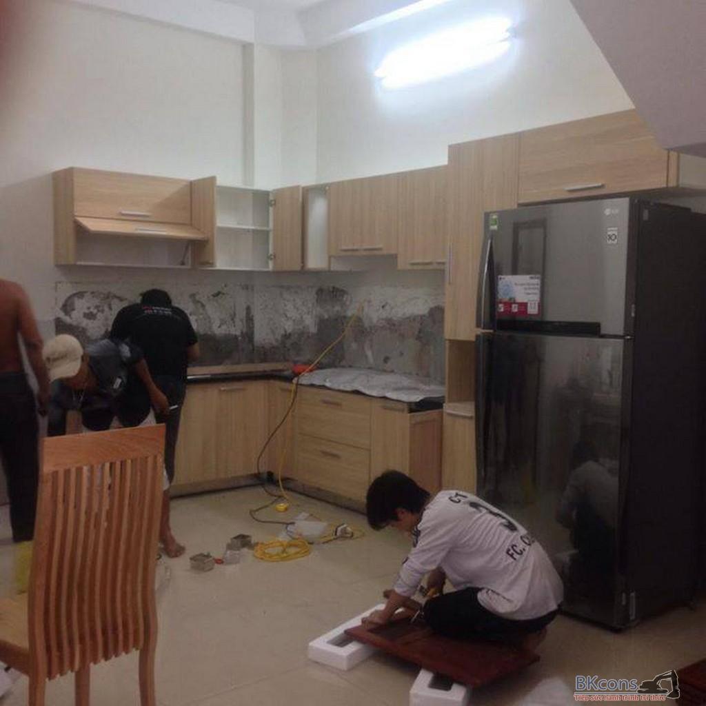 Thiết kế thi công bếp nội thất
